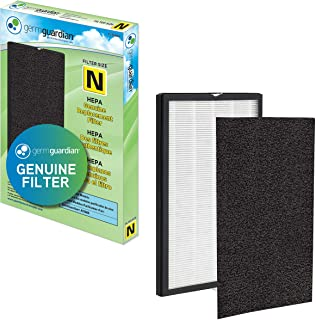 Germ Guardian FLT5600 True HEPA GENUINE Air Purifier Replacement Filter N with Activated Charcoal Layer for GermGuardian P...