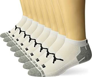 PUMA mens Men's 8 Pack Low Cut Socks Running Socks