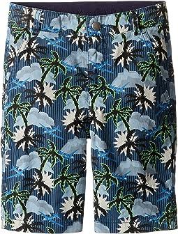 Lucas Hawaiian Printed Shorts (Toddler/Little Kids/Big Kids)