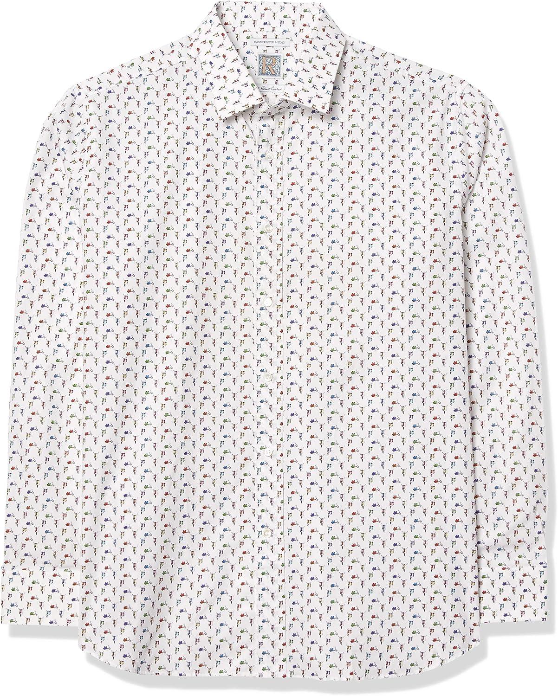 Robert Graham Men's Scooter Long Sleeve Trim Fit Shirt