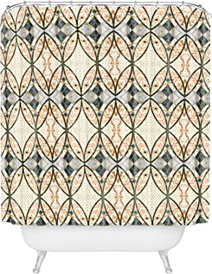 "Deny Designs Marta Barragan Camarasa Pattern Mosaic Art Deco I Shower Curtain, 72"" x 69"", Multi"