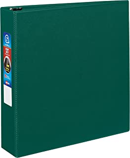 Avery Heavy-Duty Binder with 2-Inch One Touch EZD Ring, Green (79782)