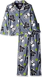 Star Wars Boys' Darth Vader 2-Piece Pajama Coat Set