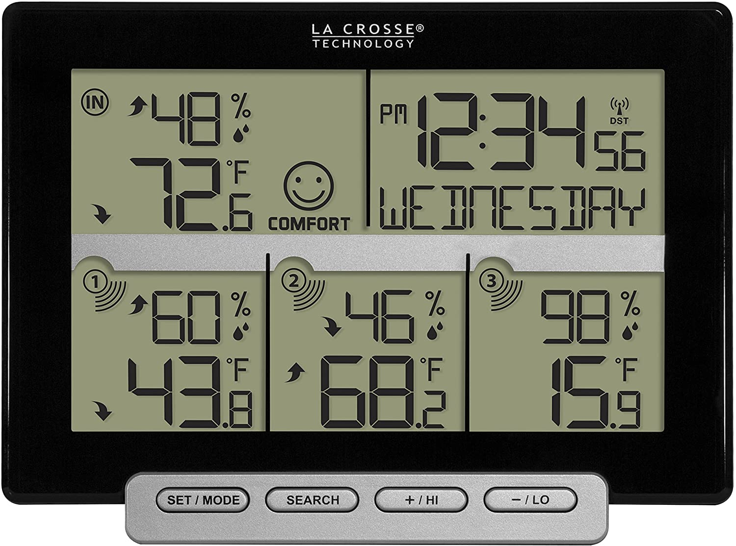 La Crosse Technology 308-1412-3TX-INT Wireless Weather Station Special Arlington Mall price for a limited time