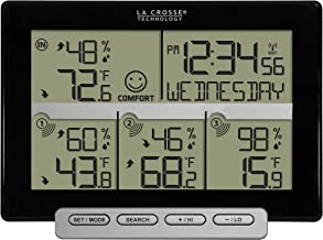La Crosse Technology 308-1412-3TX-INT Wireless Weather Station (Including 3 Sensors)
