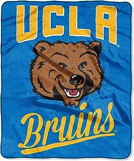 The Northwest Company NCAA UCLA Bruins Unisex Alumniraschel Blanket, Team Colors, 50x60 Inches
