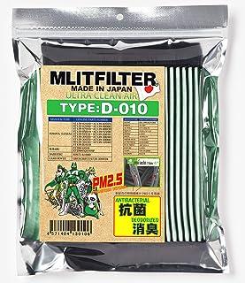 エムリット フィルター D-010 (トヨタ/レクサス/スバル/ダイハツ) 69車種に対応 (MLITFILTER) 日本製 D-010