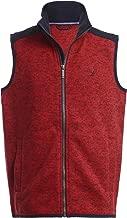 Nautica Boys' Big School Uniform Full-Zip Fleece Vest