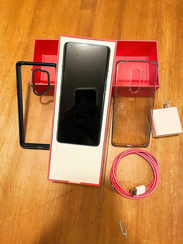 OnePlus 8 PRO 5G Dual-SIM 8GB+128GB GSM Unlocked IN2025 US Warranty (ATT, Verizon, Tmobile) - Glacial Green