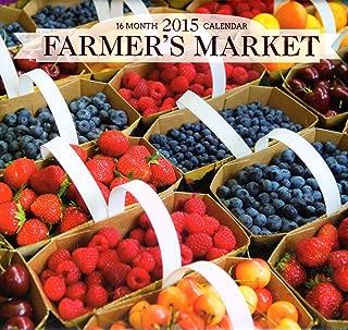 Farmer's Market - 2015 16 Month Calendar + Free Bonus 2015 Magnetic Calendar