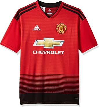 adidas 2018-2019 Man Utd Home Football Shirt (Kids)