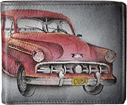 Anuschka Handbags 3000 Two Fold Men's Wallet