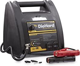 DieHard 71687 950 Peak Amp 12V Jump Starter with USB/12V Portable Power Ports and 150PSI Air Compressor