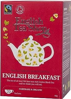 English Tea Shop English Breakfast 20 Sachet Tea Bags, 40 Gram (Pack of 6)