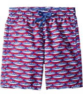 Vilebrequin Kids - Marbella Jim Printed Trunks (Little Kids/Big Kids)