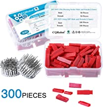 300 Pieces 2.5mm Pitch JST-SYP JST Connector Kit. 2.5mm Pitch Male and Female Pin Header, JST SYP - 2 Pin Housing JST Adapter Cable Connector Socket Male and Female, Crimp DIP Kit.