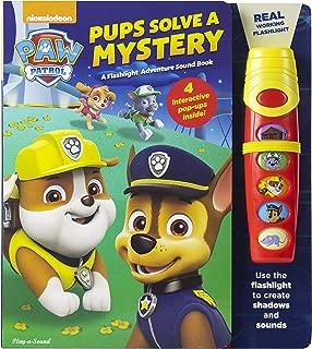 Nickelodeon PAW Patrol - Pups Solve a Mystery: A Flashlight Adventure Sound Book - PI Kids