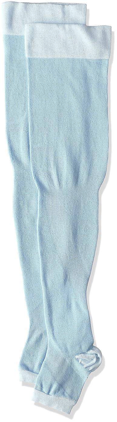 メンター固める巨大な[オカモト] 靴下サプリ 寝ながらうずまいて血行を促すソックス O790-997 レディース