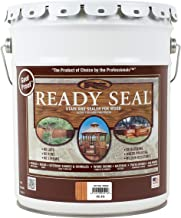 Ready Seal 512 5-Gallon Pail Natural Cedar Exterior Stain and Sealer for Wood