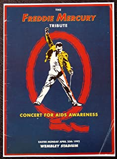 Queen - The Freddie Mercury Tribute/Concert for AIDS Awareness - Rare Advertising Poster