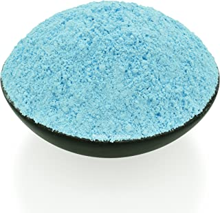 Bluejoy Genuine Pure Natural Turquoise Powder Produced from Southwest American Turquoise Perfect for Silver Art, Wood Inlay and Jewelry Designs (1/2 Ounce)