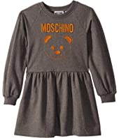 Moschino Kids - Dress w/ Embroidered Toy Bear (Little Kids/Big Kids)