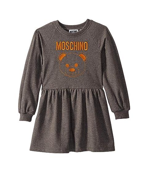 Moschino Kids Dress w/ Embroidered Toy Bear (Little Kids/Big Kids)