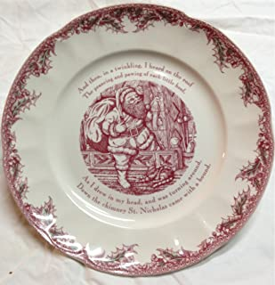 Johnson Brothers A4256408173 Twas The Night Serving Plate, 12 inch