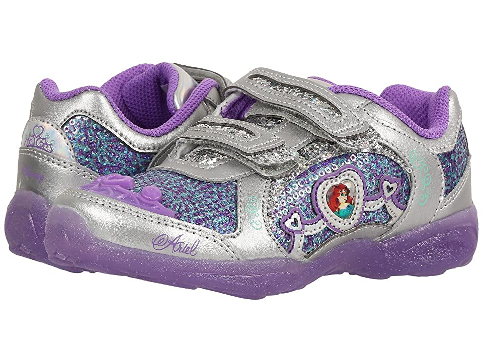 Stride Rite Disney(r) Ariel Athletic A/C (Little Kid) (Purple) Girls Shoes