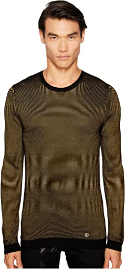 Versace Collection - Stripe Knit Sweater
