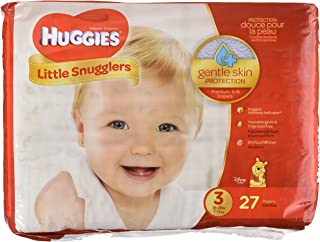 Huggies Little Snugglers Diapers - Size 3-27 ct