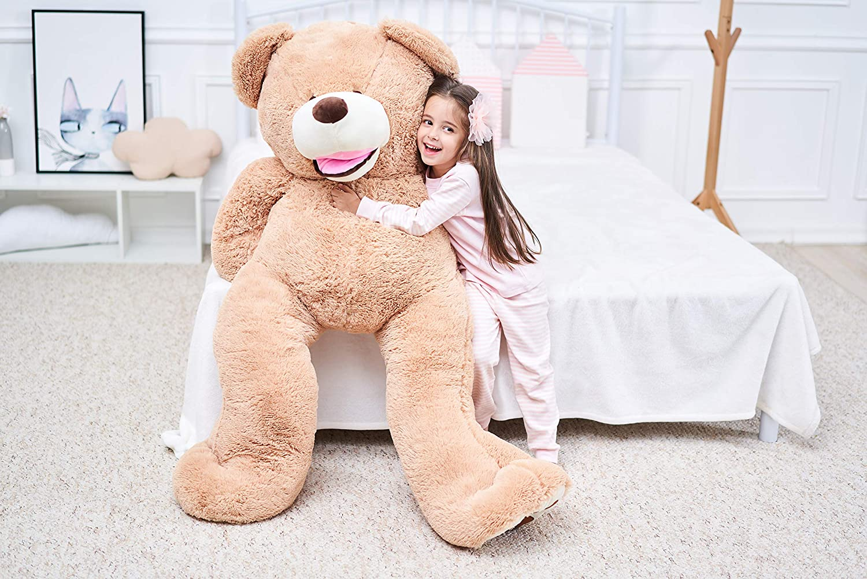 Pink, 39 inches IKASA Giant Teddy Bear Plush Toy Stuffed Animals