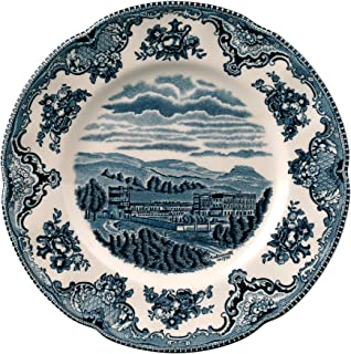 Johnson Brothers Old Britain Castles Blue Salad Plate 8, 8, Blue by Johnson Brothers