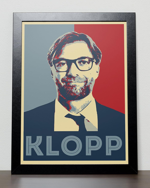 Detroit Mall Jurgen Klopp Easy-to-use Liverpool FC Poster LFC
