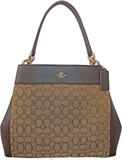 Coach Lexy Shoulder Bag in Outline Signature 2018 Collection Style F27579