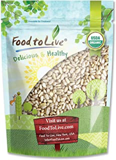 Food to Live Organic Pine Nuts / Pignolias (Kosher) (2 Pounds)