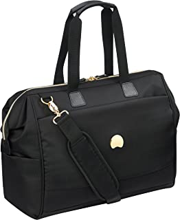 Delsey Paris Montrouge Tote Reporter Bag Casual Daypack, Black (00201819000)