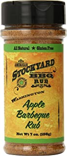 American Stockyard Washington Apple BBQ Rub, 7 Ounce