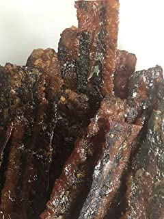 Candied Bacon smoked Jerky Hickory smoked Make it a gift box 17 Delicious Flavors 3 ounces portions Best bacon sale artisan foodie gift box sets