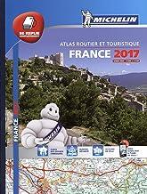 Atlas routier et touristique. France 2017. 1:200.000 (Michelin Tourist and Motoring Atlases)