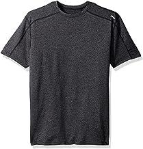 SODO Men's Short-Sleeve Cooldown Shirt-Heather Cloud, Mens