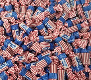 CrazyOutlet USA Flag Tootsie Roll Midgees Candy, Patriotic Candy, Bulk Pack, 3 Lbs