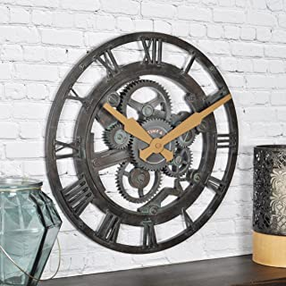 FirsTime & Co. Oxidized Gears Wall Clock, 15