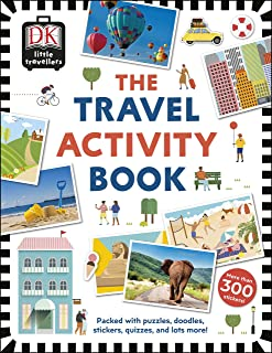 The Travel Activity Book: Packed with Puzzles, Doodles, Stickers, Quizzes, and Lots More!