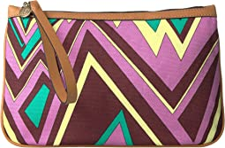 Zigzag Canvas Pouch