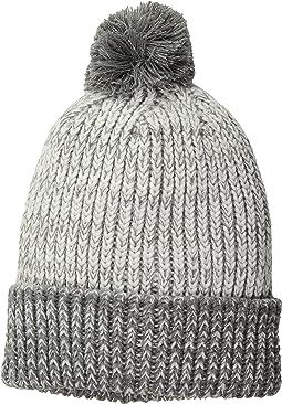 SCALA - Two-Tone Lurex Cuff Cap