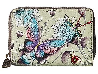 Anuschka Handbags Credit And Business Card Holder 1110 (Wondrous Wings) Coin Purse
