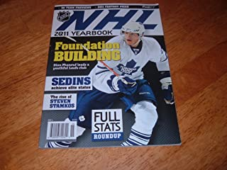 NHL FaceOff Magazine-Official 2011 NHL Yearbook-Dion Phaneuf of Toronto Maple Leafs on cover.