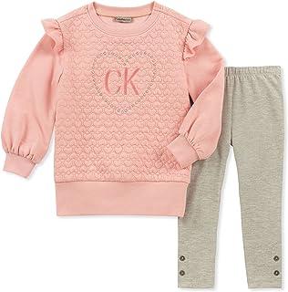Calvin Klein Baby Girls 2 Pieces Tunic Set