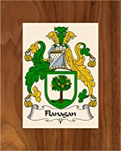 Carpe Diem Designs Flanagan Coat of Arms/Flanagan Family Crest 8X10 Photo Plaque, Personalized Gift, Wedding Gift